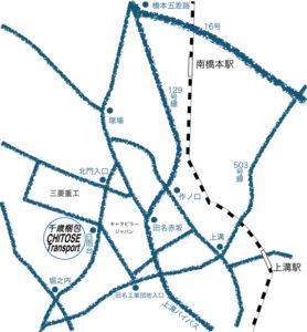 株式会社千歳梱包 アクセス 地図 マップ